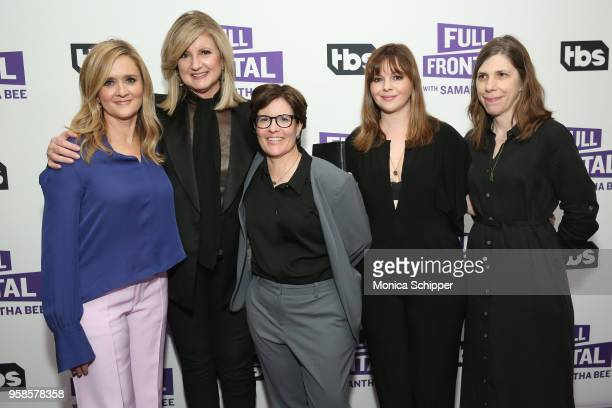 Samantha Bee Arianna Huffington Kara Swisher Amber Tamblyn and Cynthia Littleton attend the 'Full Frontal with Samantha Bee' FYC Event NY on May 14...