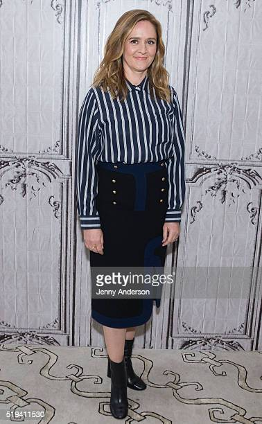 Samantha Bee attends AOL Build Series at AOL Studios in New York on April 6 2016 in New York City