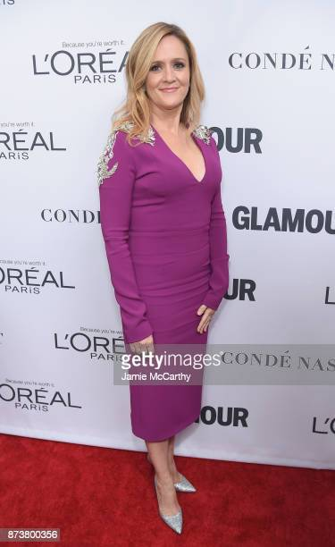Samantha Bee attends Glamour's 2017 Women of The Year Awards at Kings Theatre on November 13 2017 in Brooklyn New York