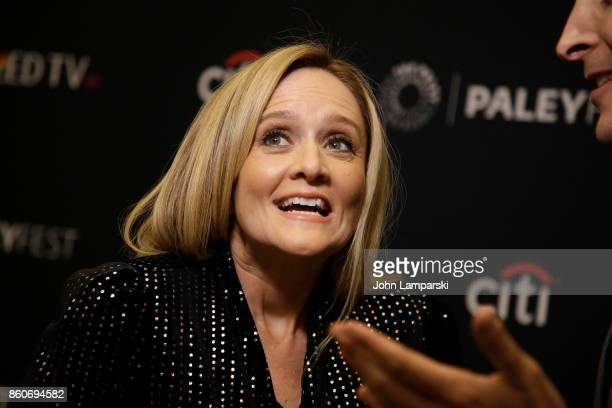 Samantha Bee attends PaleyFest NY 2017 Full Frontal with Samantha Bee at The Paley Center for Media on October 12 2017 in New York City