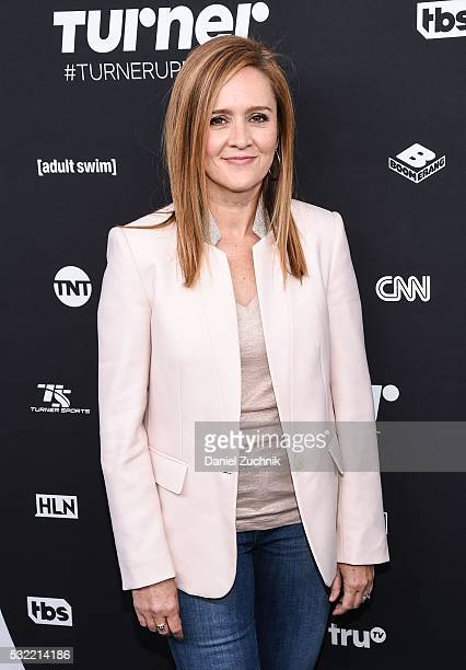 Samantha Bee attends the 2016 Turner Upfront at Nick Stef's Steakhouse on May 18 2016 in New York New York