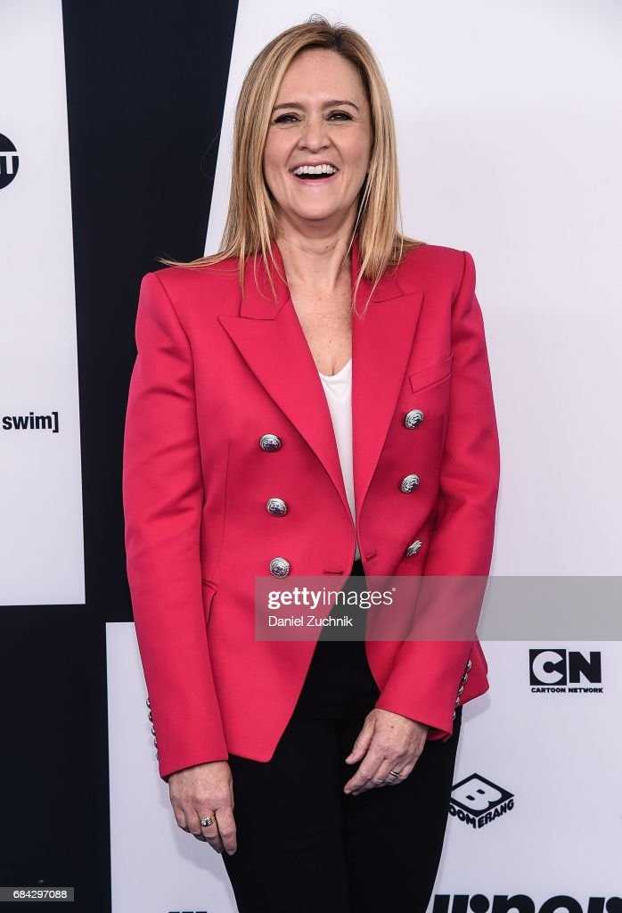 Samantha Bee attends the 2017 Turner Upfront at Madison Square Garden on May 17, 2017 in New York City.