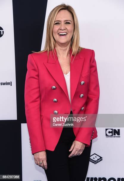 Samantha Bee attends the 2017 Turner Upfront at Madison Square Garden on May 17 2017 in New York City