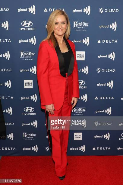 Samantha Bee attends the 2019 GLAAD Media Awards at New York Hilton Midtown on May 4 2019 in New York City