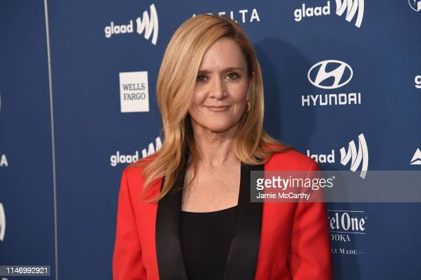 Samantha Bee attends the 30th Annual GLAAD Media Awards New York at New York Hilton Midtown on May 04 2019 in New York City