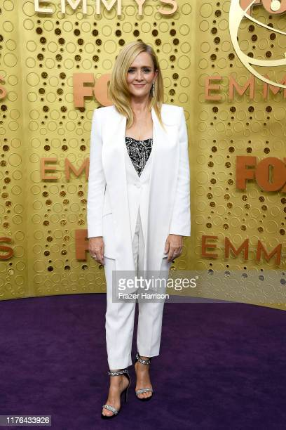 Samantha Bee attends the 71st Emmy Awards at Microsoft Theater on September 22 2019 in Los Angeles California