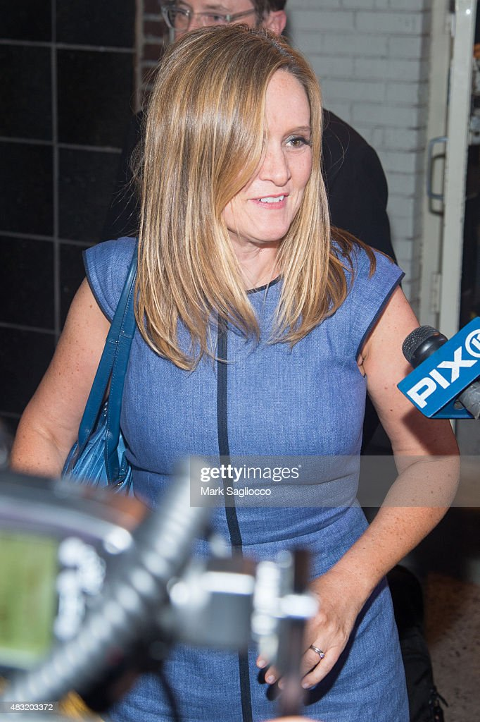 Samantha Bee attends the final 'The Daily Show With Jon Stewart' on August 6, 2015 in New York City.
