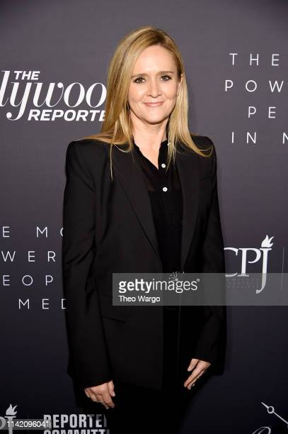 Samantha Bee attends the The Hollywood Reporter's 9th Annual Most Powerful People In Media at The Pool on April 11 2019 in New York City