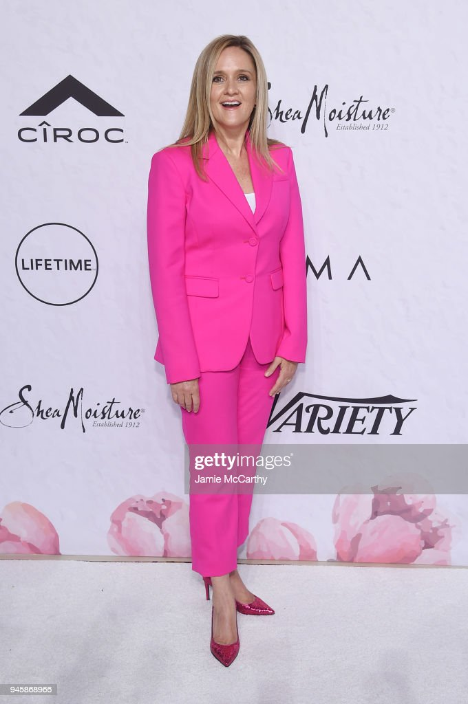 Samantha Bee attends Variety's Power of Women: New York at Cipriani Wall Street on April 13, 2018 in New York City.