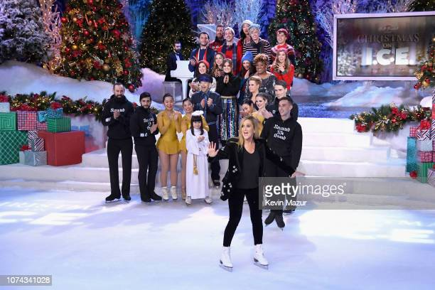 Samantha Bee ice skates during Full Frontal With Samantha Bee Presents Christmas On I.C.E. At PlayStation Theater on December 17, 2018 in New York...