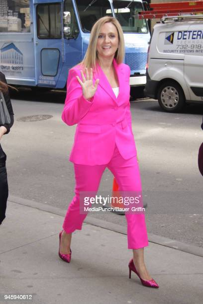 Samantha Bee is seen on April 13 2018 in New York City