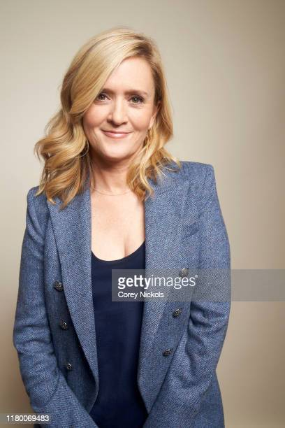 Samantha Bee of Full Frontal With Samantha Bee poses for a portrait during 2019 New York Comic Con at Jacob K Javits Convention Center in New York NY...