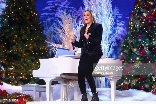 Samantha Bee onstage during Full Frontal With Samantha Bee Presents Christmas On ICE at PlayStation Theater on December 17 2018 in New York City...