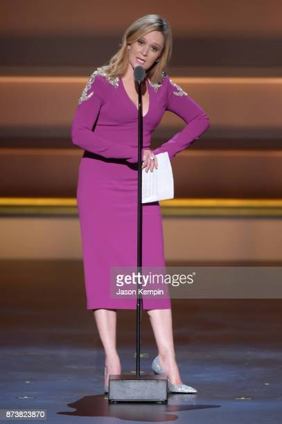 Samantha Bee speaks onstage at Glamour's 2017 Women of The Year Awards at Kings Theatre on November 13 2017 in Brooklyn New York