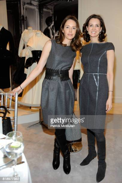 Samantha Boardman Rosen and Alexia Hamm Ryan attend Dior Celebrates The 25th Anniversary of NewYork Presbyterian LyingIn Hospital at Dior Boutique on...