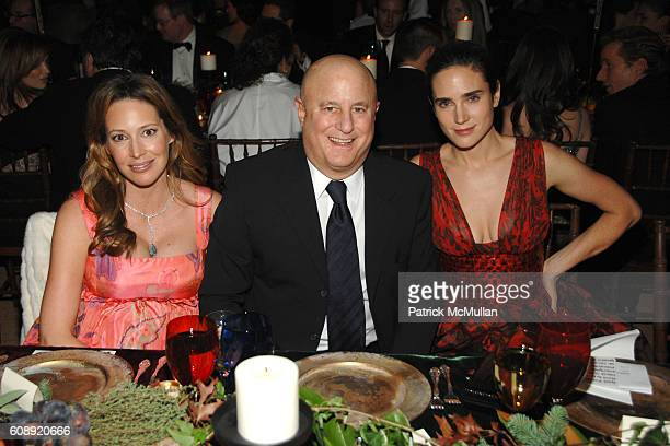 """Samantha Boardman Rosen, Ron Perelman and Jennifer Connelly attend CFDA/Vogue """"7th ON SALE"""" 2007 Gala at 69th Regiment Armory on November 15, 2007 in..."""