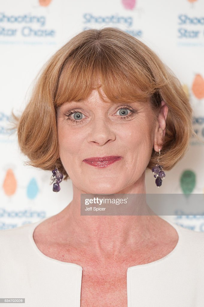 Samantha Bond arrives for Star Chase Children's Hospice Event at The Dorchester on May 27, 2016 in London, England.