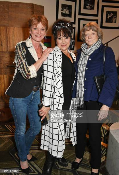 Samantha Bond Harriet Thorpe and Dame Maggie Smith attend the Acting For Others Presidential Awards at The Crazy Coqs on May 12 2017 in London England