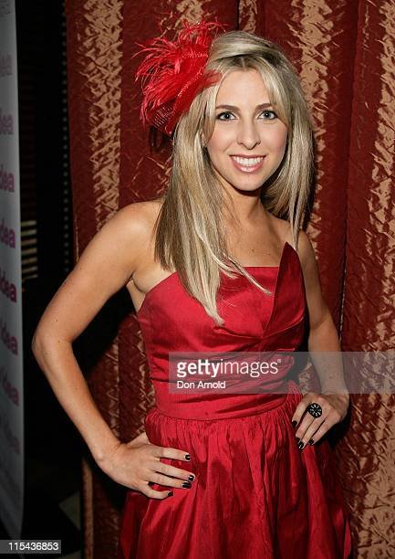 Samantha Brett attends the Kate Waterhouse Melbourne Cup Party at the Zeta Bar at The Hilton Hotel on November 6 2007 in Sydney Australia