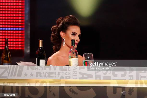 Samantha Busch attends the Monster Energy NASCAR Cup Series Awards at Music City Center on December 05 2019 in Nashville Tennessee