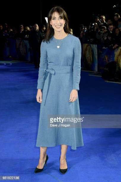 Samantha Cameron attends the European Premiere of 'A Wrinkle In Time' at BFI IMAX on March 13 2018 in London England