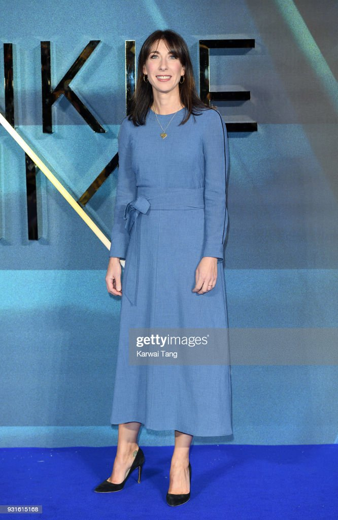 Samantha Cameron attends the European Premiere of 'A Wrinkle In Time' at BFI IMAX on March 13, 2018 in London, England.