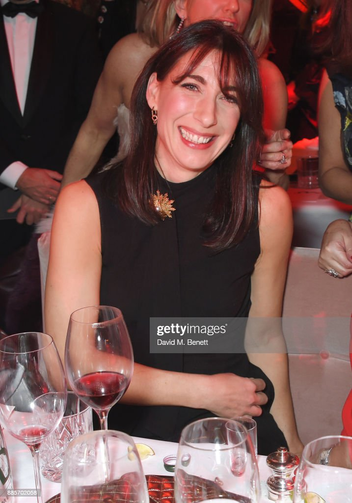 Samantha Cameron attends The Fashion Awards 2017 in partnership with Swarovski after party at Royal Albert Hall on December 4, 2017 in London, England.