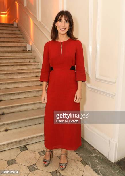 Samantha Cameron attends the mothers2mothers Midsummer Soiree at One Belgravia on June 21 2018 in London England