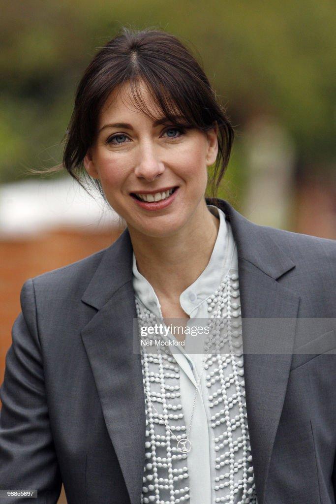 Samantha Cameron Sighting In London - May 05, 2010