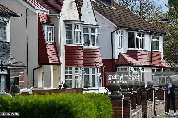 Samantha Cameron wife of British Prime Minister and Conservative leader David Cameron canvasses for Brentford and Isleworth Conservative candidate...