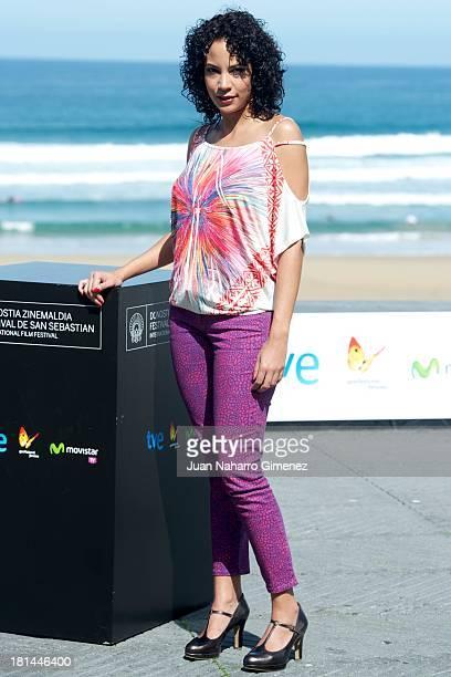 Samantha Castillo attends 'Pelo Malo' photocall at Kursaal during 61st San Sebastian Film Festival on September 21 2013 in San Sebastian Spain