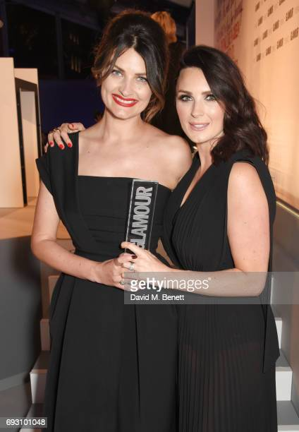Samantha Chapman and Nicola Chapman of Pixiwoo winners of the Youtubers award attends the Glamour Women of The Year Awards 2017 in Berkeley Square...