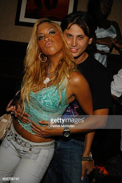 Samantha Cole and Jonathon Cheban attend DJ CASSIDY Birthday Party at The PLUMM on July 12 2006 in New York City