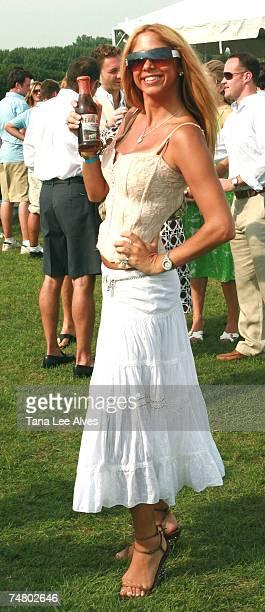 Samantha Cole at the Bridgehampton Polo Club in Bridgehampton New York
