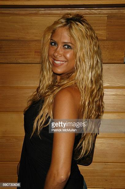 Samantha Cole attends DJ Cassidy Birthday Party at Butter NYC USA on July 6 2005