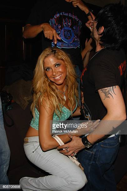Samantha Cole attends DJ Cassidy Birthday Party with surprise performance by Doug E Fresh and Slick Rick at Plumm NYC on July 12 2006