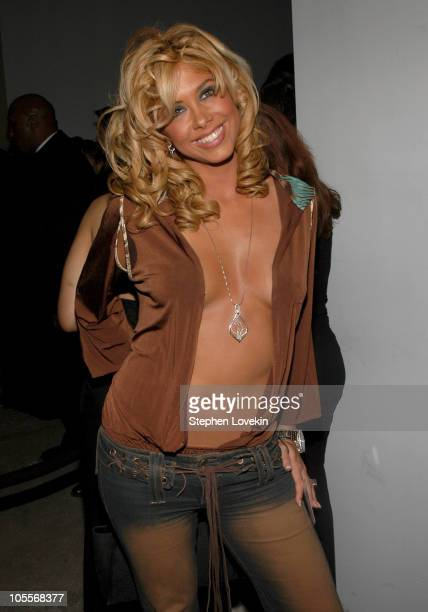 Samantha Cole during Olympus Fashion Week Fall 2005 Baby Phat Arrivals at Skylight Studio in New York City New York United States