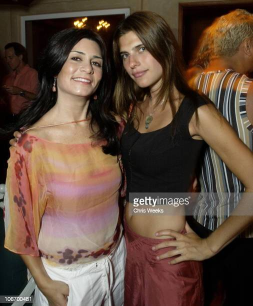 Samantha Daniels and Lake Bell during Nancy Moonves and Jack Guy host a Tanqueray No TEN Cocktail Party at Private Residence in Malibu California...