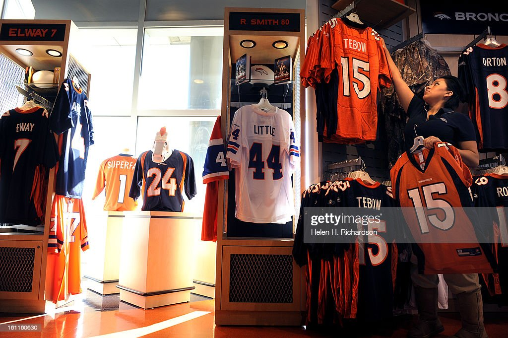 denver broncos team store
