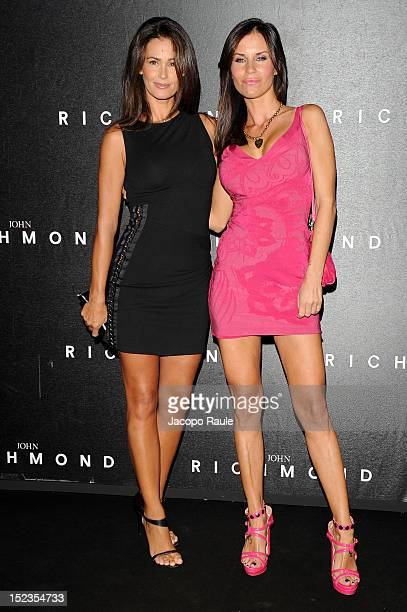 Samantha De Grenet and Antonella Mosetti attend the John Richmond Spring/Summer 2013 fashion show as part of Milan Womenswear Fashion Week on...