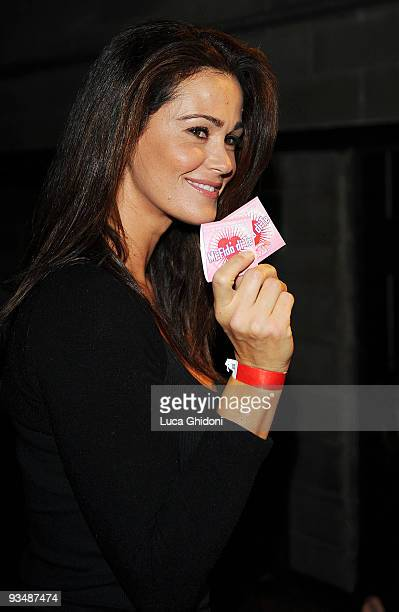 Samantha De Grenet attends the 2009 HIVideo spot award at Alcatraz on November 29 2009 in Milan Italy