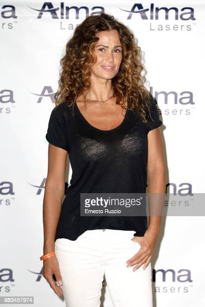 Samantha De Grenet attends the Alma Lasers Event at Centrale Del Tennis during the Tennis Internazionali BNL d'Italia 2017 on May 15 2017 in Rome...