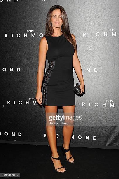 Samantha De Grenet attends the John Richmond Spring/Summer 2013 fashion show as part of Milan Womenswear Fashion Week on September 19 2012 in Milan...