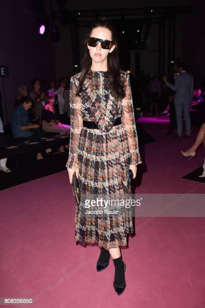 Samantha De Reviziis attends the Alexander Vauthier Haute Couture Fall/Winter 20172018 show as part of Haute Couture Paris Fashion Week on July 4...