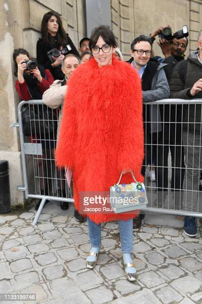 Samantha De Reviziis attends the Elie Saab show as part of the Paris Fashion Week Womenswear Fall/Winter 2019/2020 on March 02 2019 in Paris France