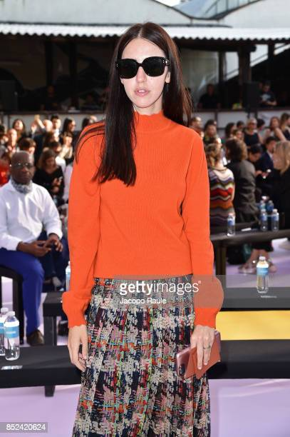 Samantha De Reviziis attends the Missoni show during Milan Fashion Week Spring/Summer 2018 on September 23 2017 in Milan Italy