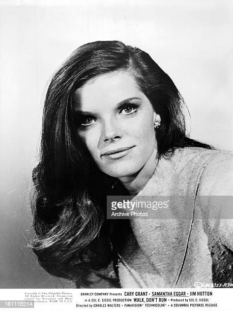 Samantha Eggar in publicity portrait for the film 'Walk Don't Run' 1966