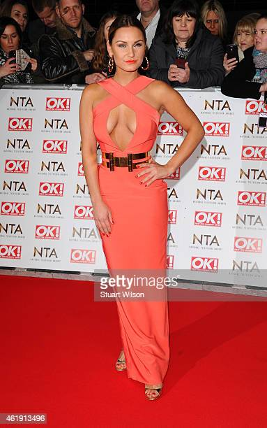 Samantha Faiers attends the National Television Awards at 02 Arena on January 21 2015 in London England