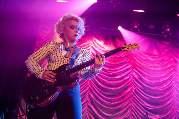 GBR: Samantha Fish Performs At Islington Assembly Hall, London
