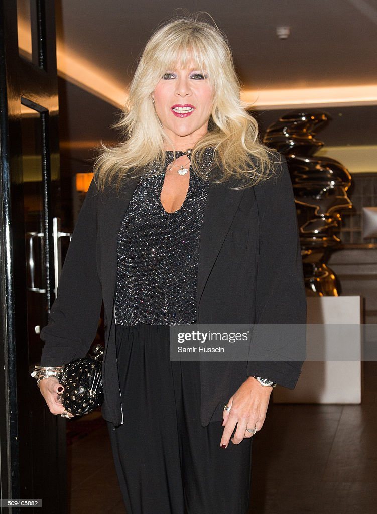 Samantha Fox deltager som The Leona Lewis Kiss Beauty Launch-1003